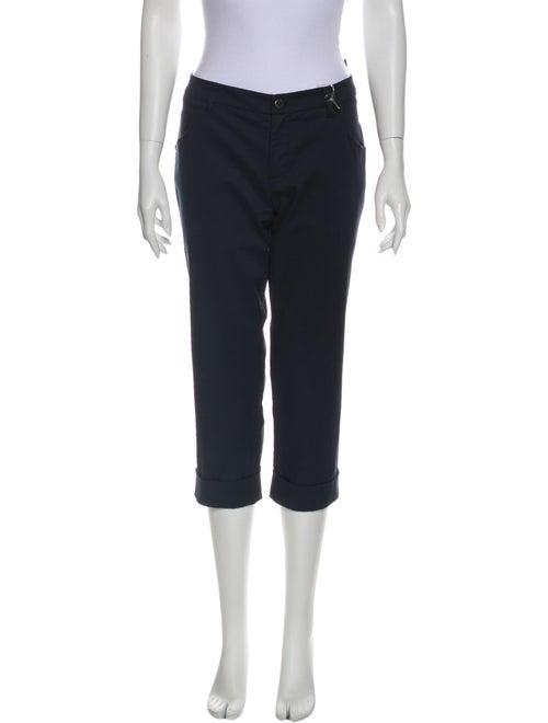 Prada Sport Straight Leg Pants Blue