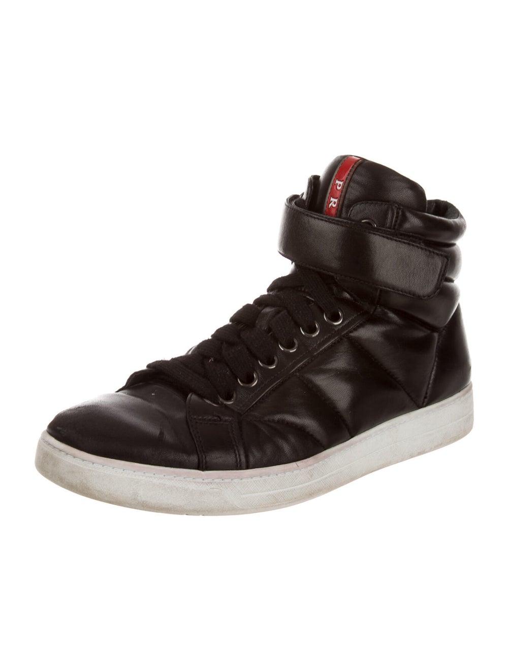 Prada Sport Leather Sneakers Black - image 2
