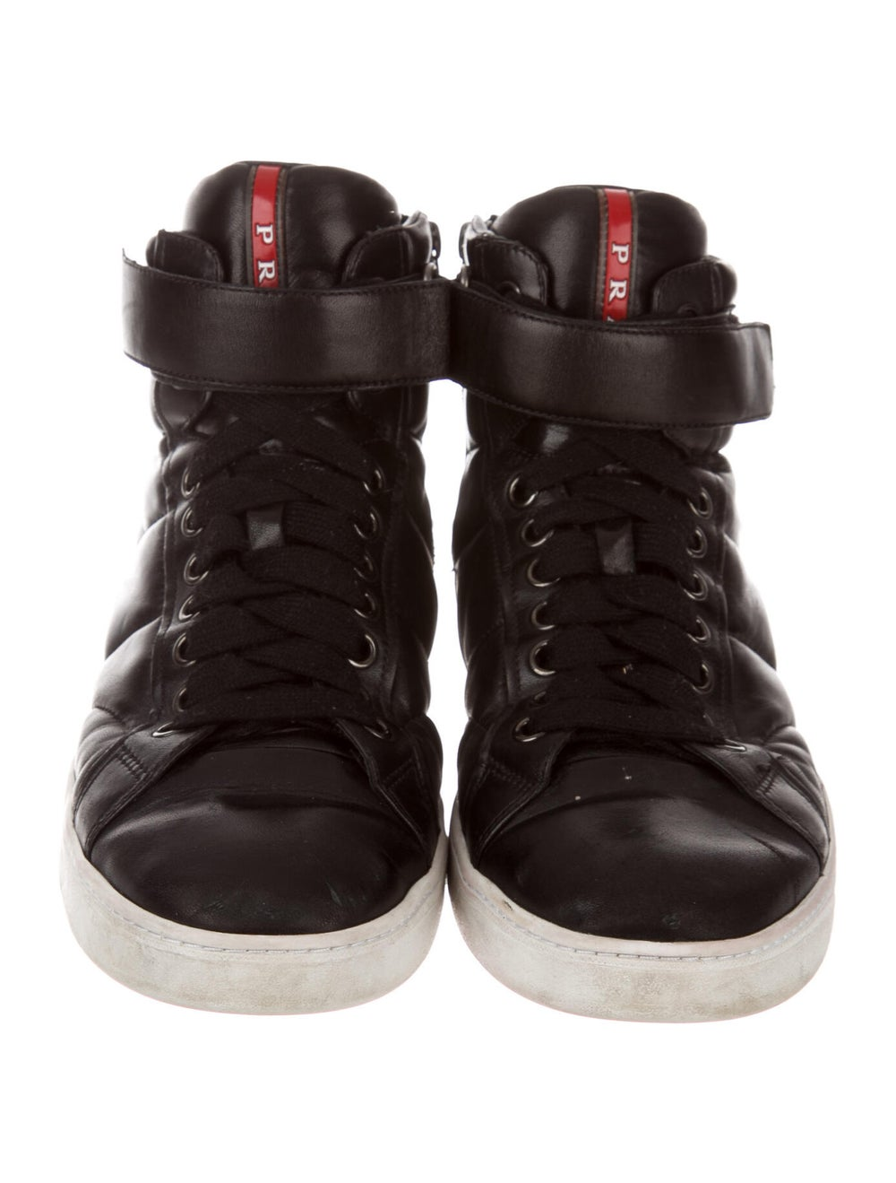 Prada Sport Leather Sneakers Black - image 3