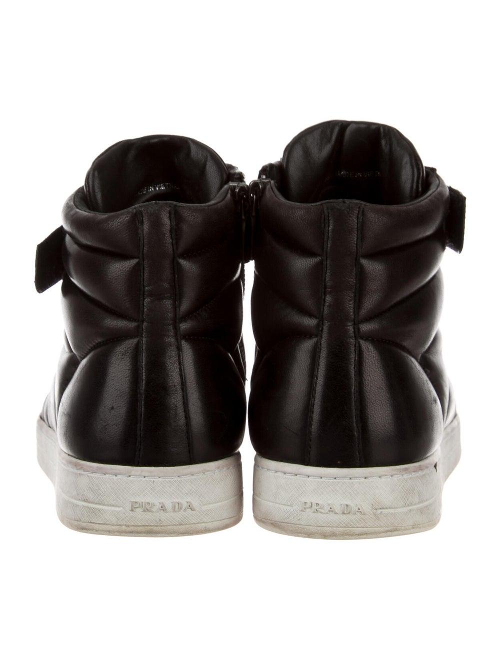 Prada Sport Leather Sneakers Black - image 4