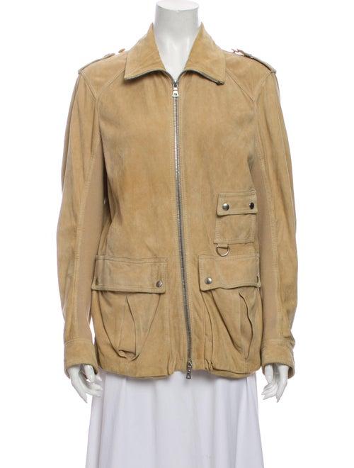 Prada Sport Leather Utility Jacket