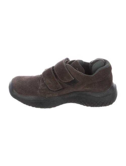 Prada Sport Suede Sneakers Brown