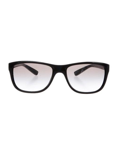 Prada Sport Gradient Logo Sunglasses black