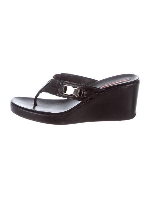 Prada Sport Sandals Black