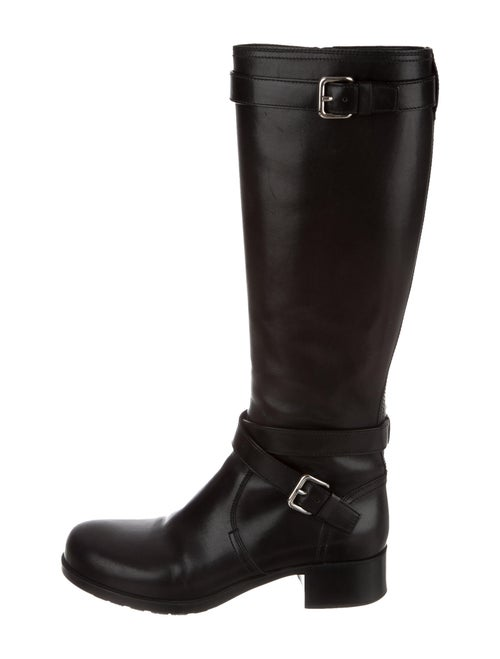 Prada Sport Riding Boots Black