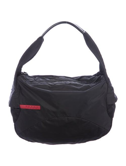Prada Sport Sport Tessuto Shoulder Bag Black