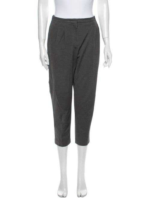 Prada Sport Straight Leg Pants Grey