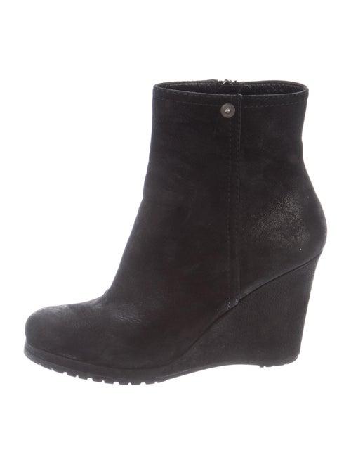 Prada Sport Nubuck Boots Black
