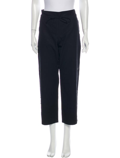 Prada Sport Wide Leg Pants Black