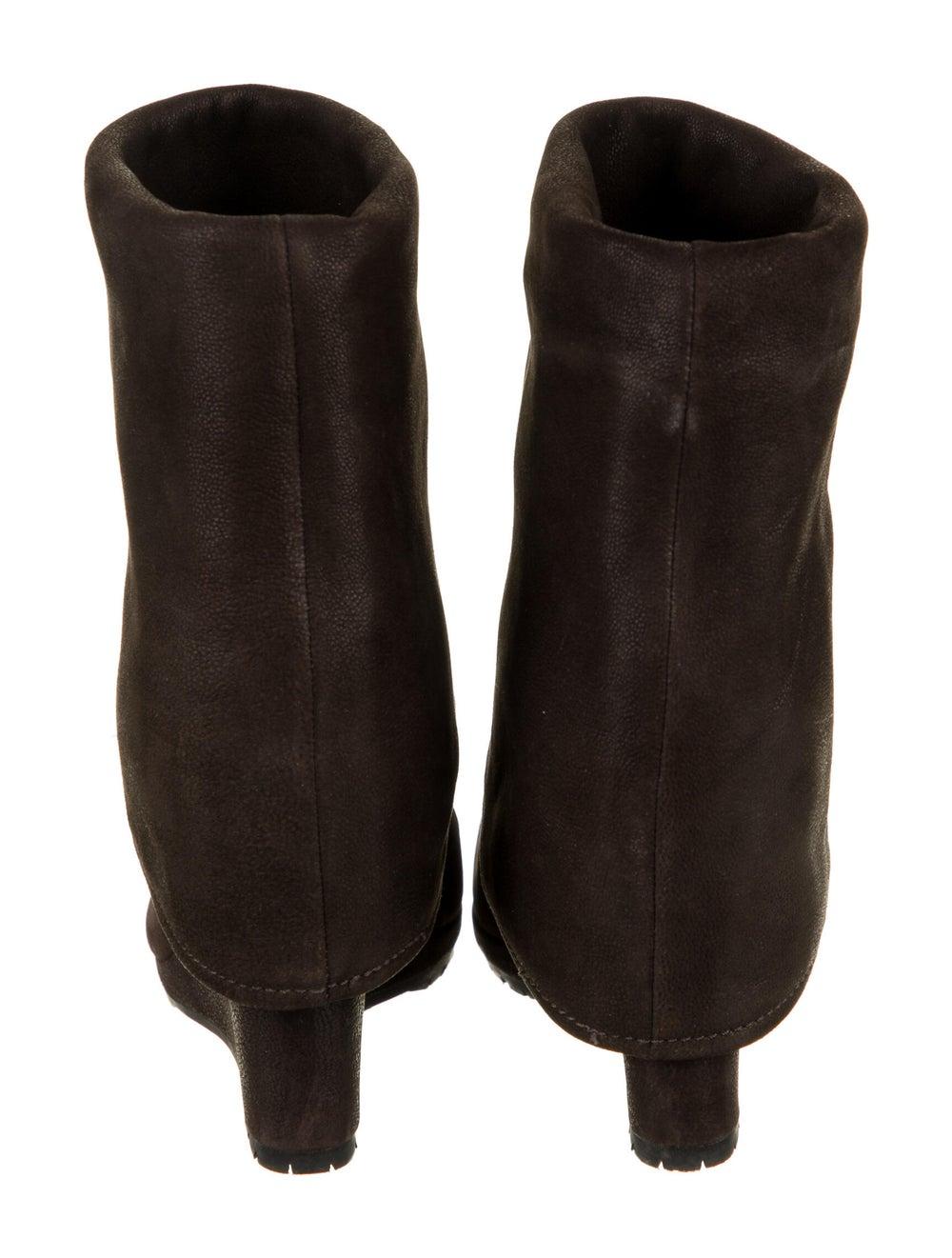 Prada Sport Suede Boots Brown - image 4