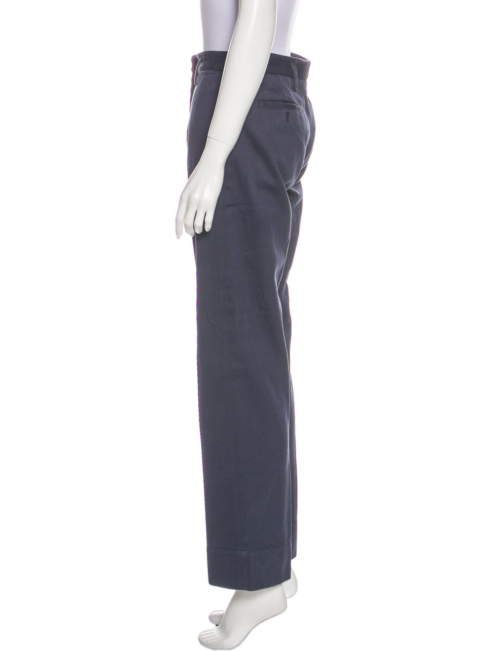 Prada Sport Wide Leg Pants Blue - image 2