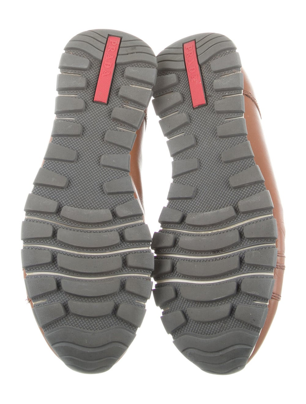 Prada Sport Leather Sneakers Brown - image 5