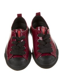 Prada Sport Girls' Patent Leather Low-Top Shoes