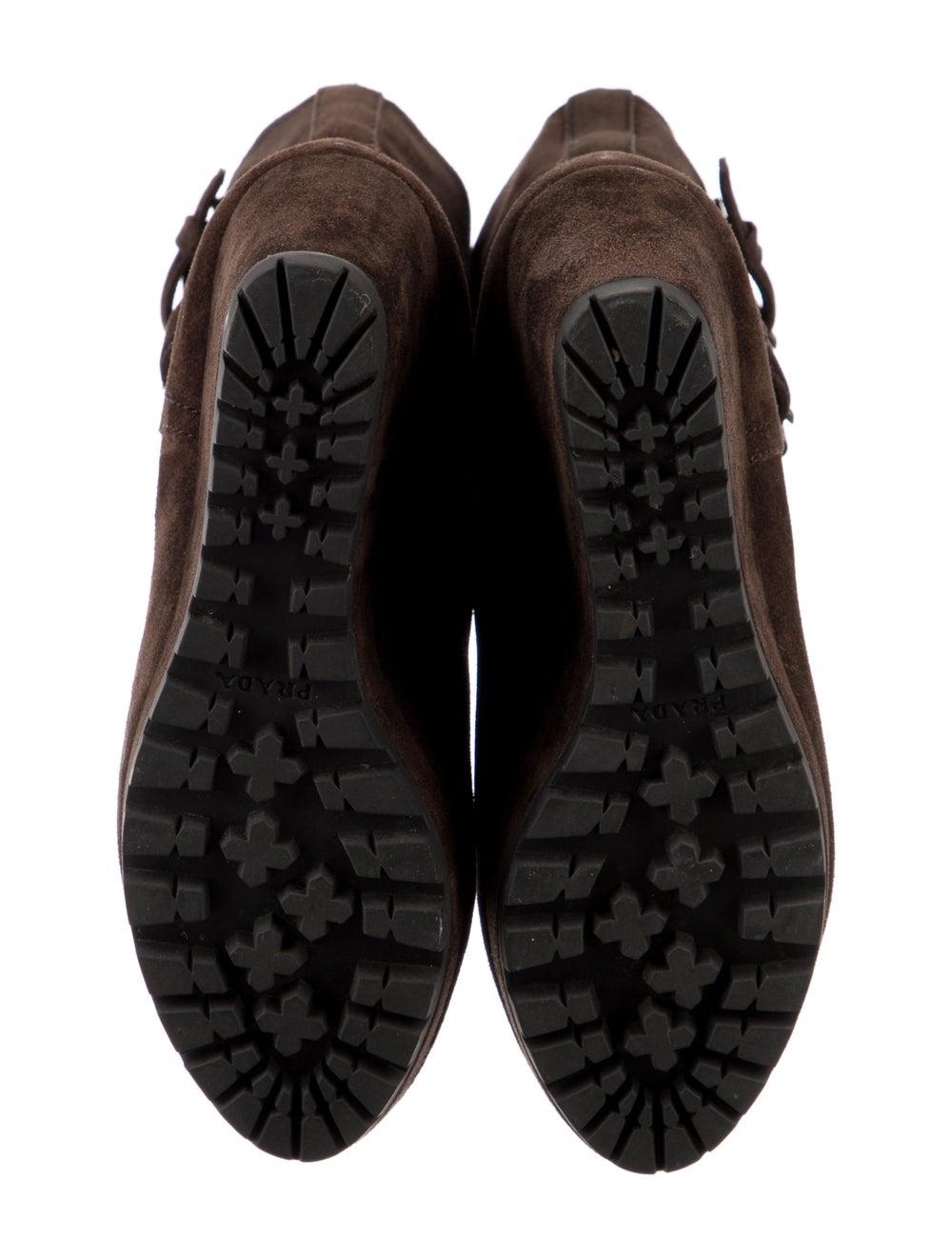 Prada Sport Suede Boots Brown - image 5
