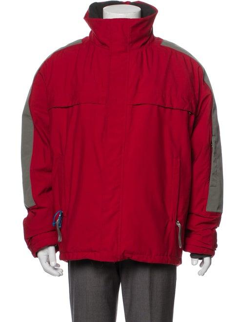 Prada Sport Windbreaker Red