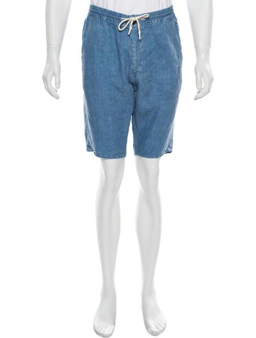 President's 2019 Linen Bermuda Shorts blue
