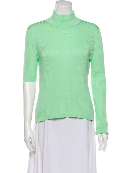 PRISCAVera Turtleneck Sweater Green