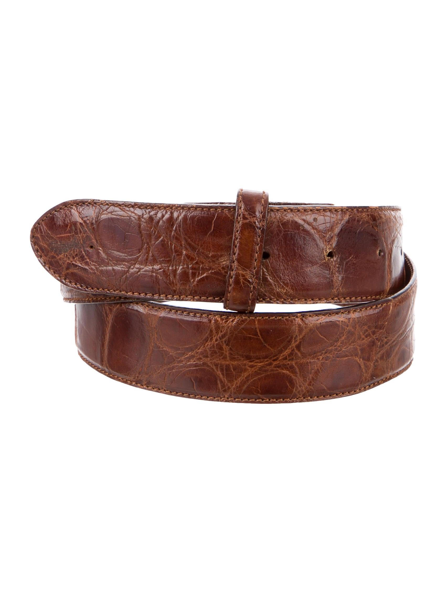 polo ralph lauren alligator belt strap accessories. Black Bedroom Furniture Sets. Home Design Ideas