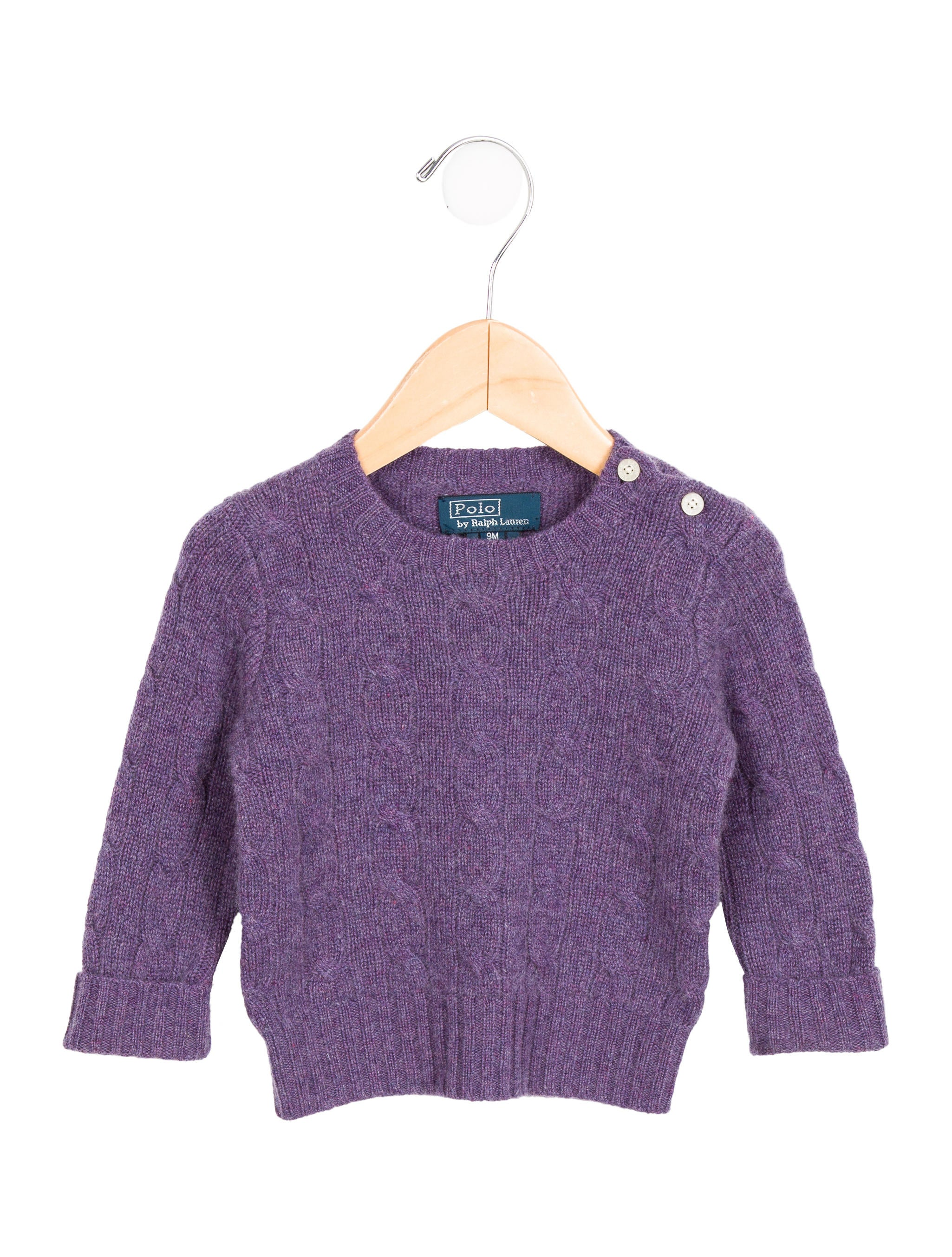 Polo Ralph Lauren Girls Cashmere Cable Knit Sweater Girls