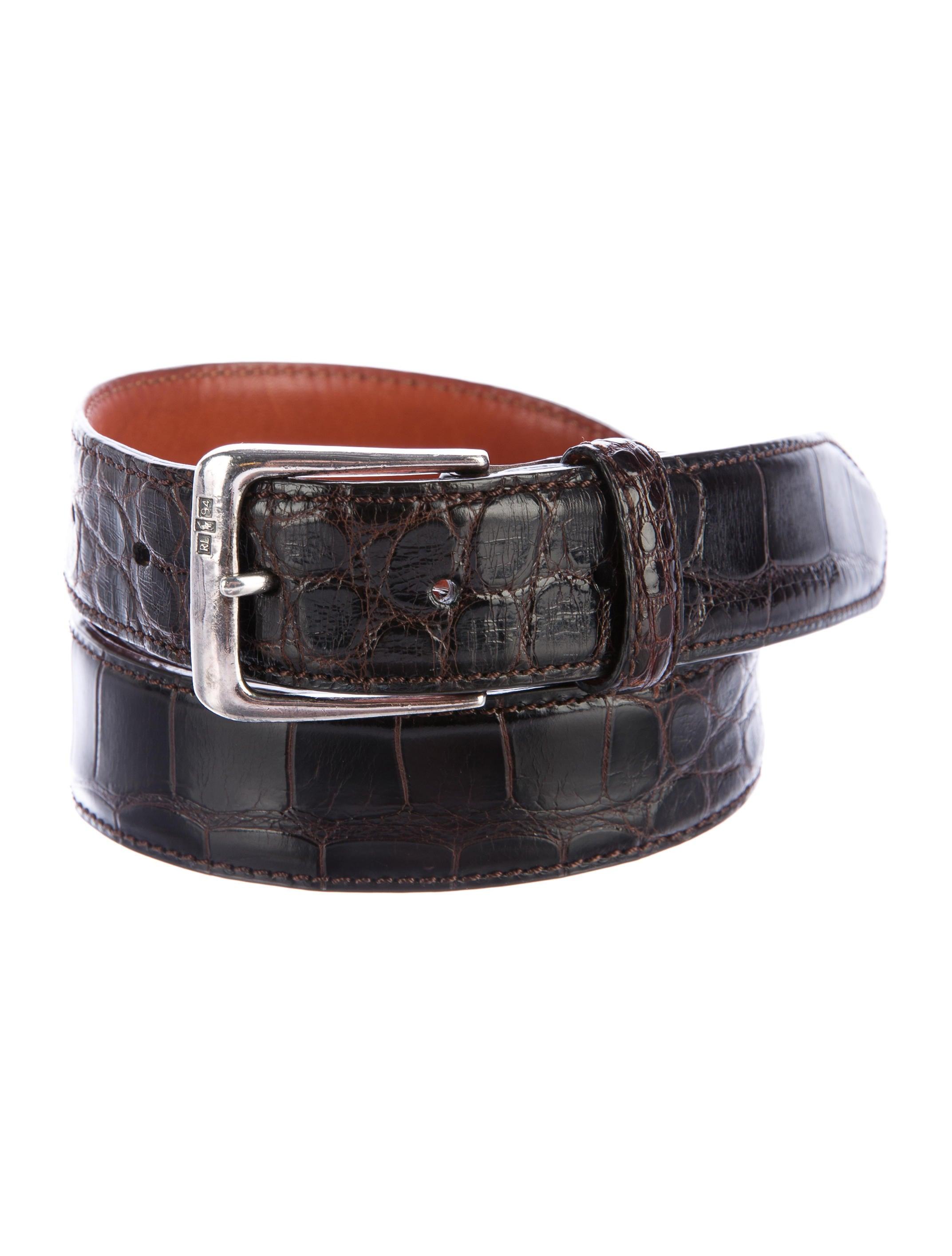 polo ralph lauren sterling alligator belt accessories. Black Bedroom Furniture Sets. Home Design Ideas
