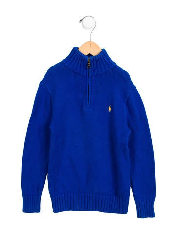 Polo Ralph Lauren Boys' Knit Logo Sweater None