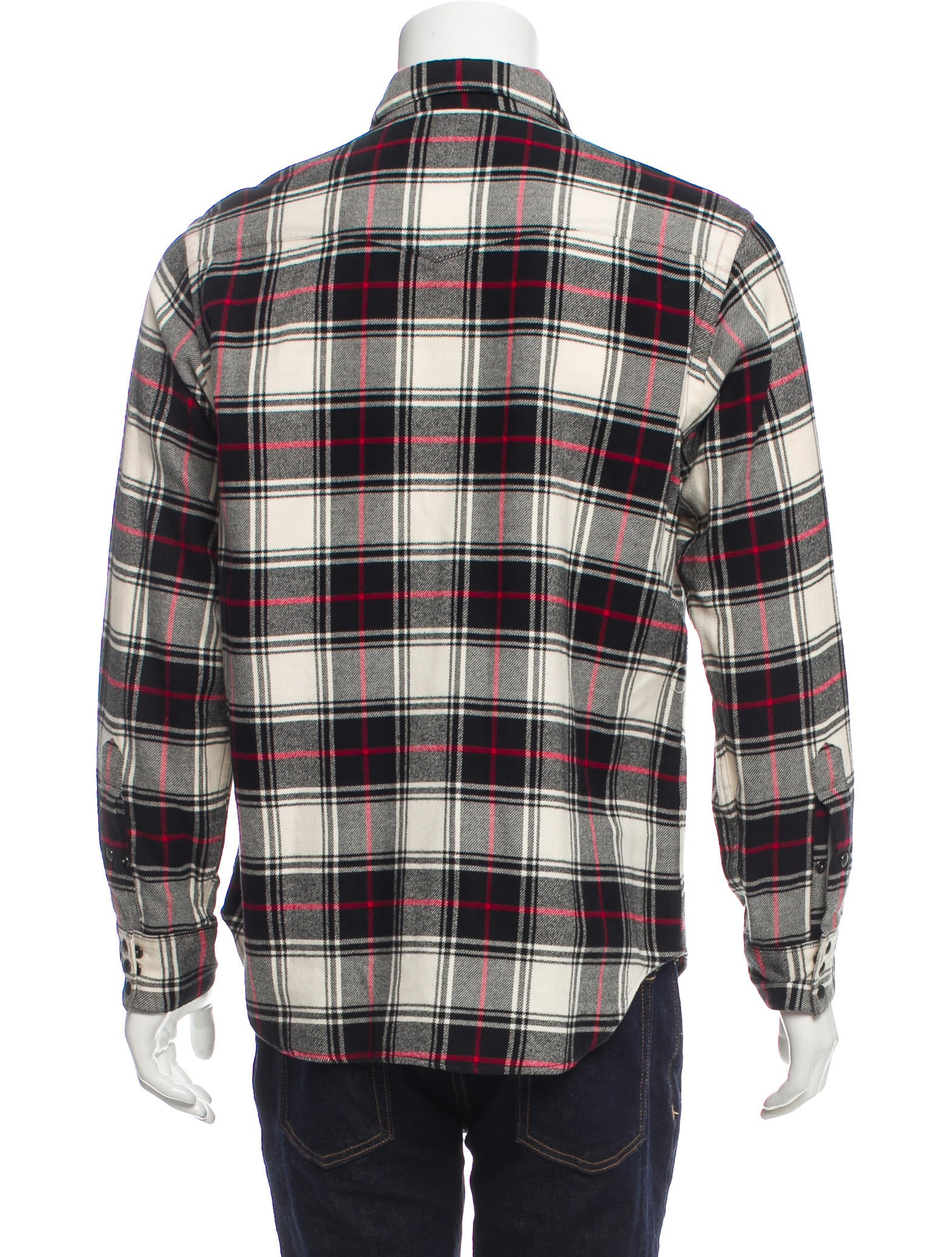 Polo Ralph Lauren Plaid Button-Up Shirt - Clothing ...