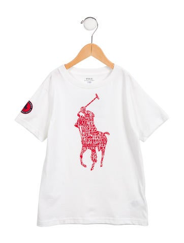 Polo Ralph Lauren Boys' Logo Graphic Shirt None