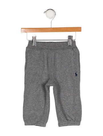 Polo Ralph Lauren Boys' Knit Embroidered Joggers None