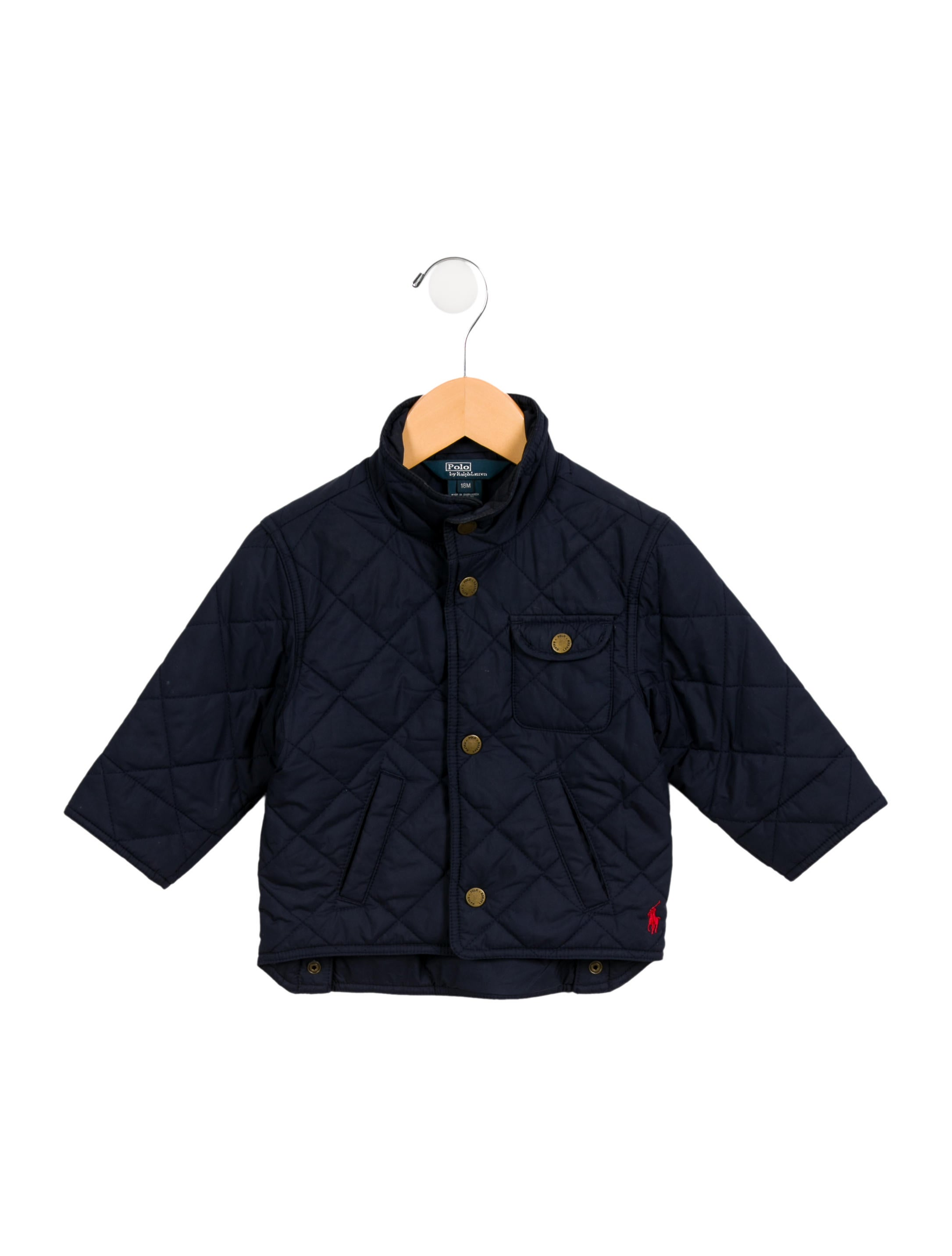 15f8ae707bbd Polo Ralph Lauren Boys  Quilted Logo Jacket - Boys - WPRLN21200 ...