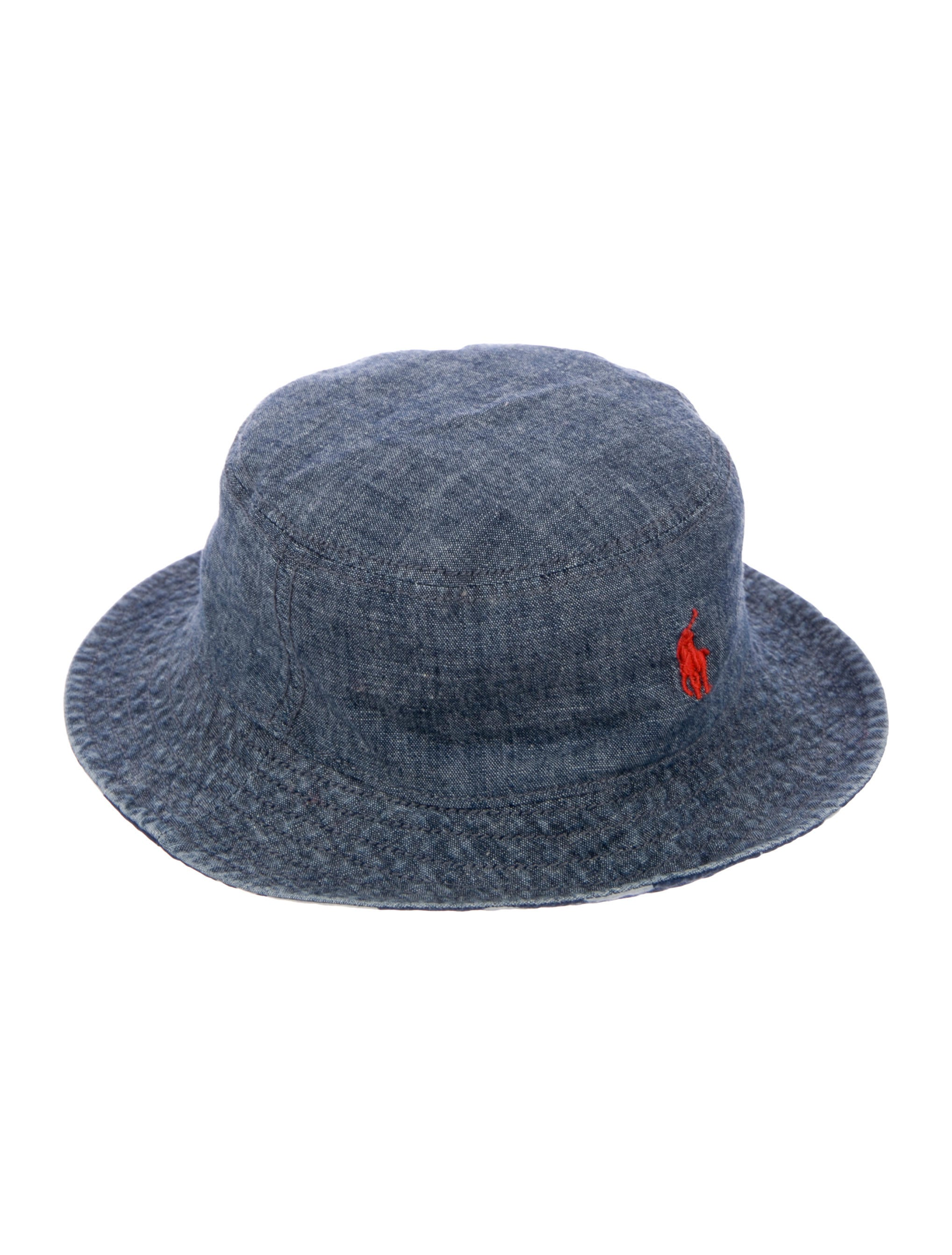 Polo Ralph Lauren Boys  Chambray Bucket Hat w  Tags - Boys ... 270a11d730d