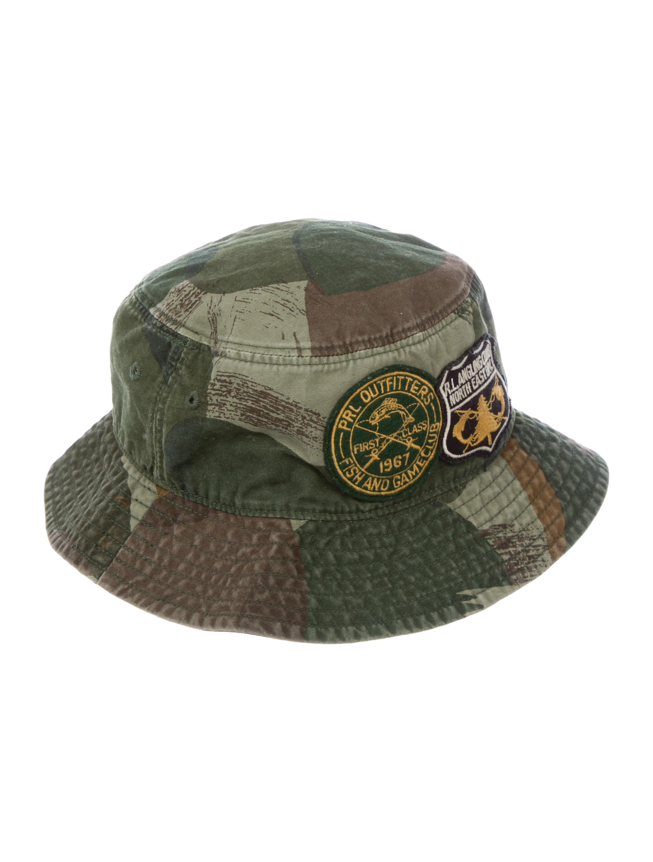 2a33305dae9 Polo Ralph Lauren Boys  Camo Bucket Hat - Boys - WPRLN21350