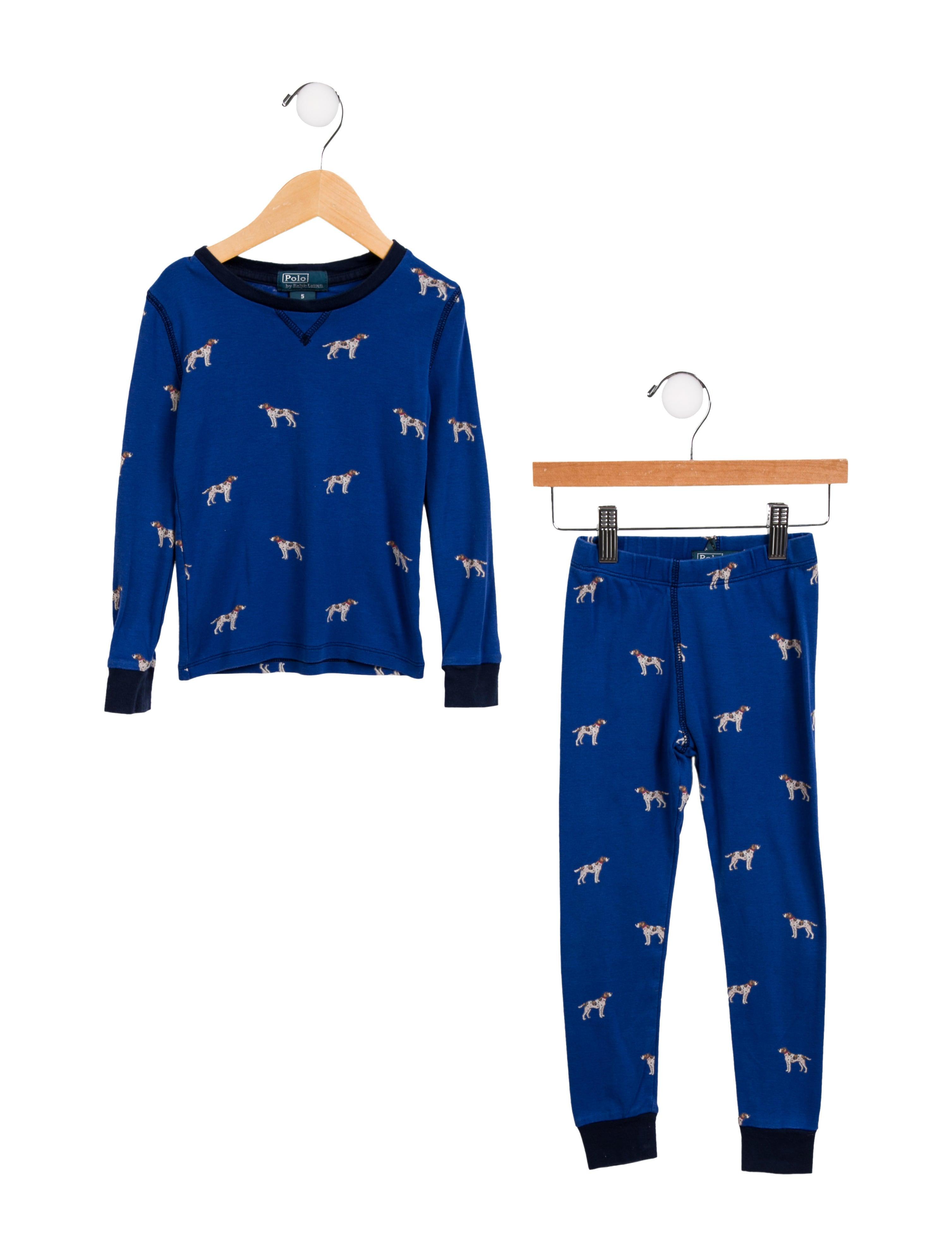 d8f8c8b6 Boys' Dog Print Pajama Set