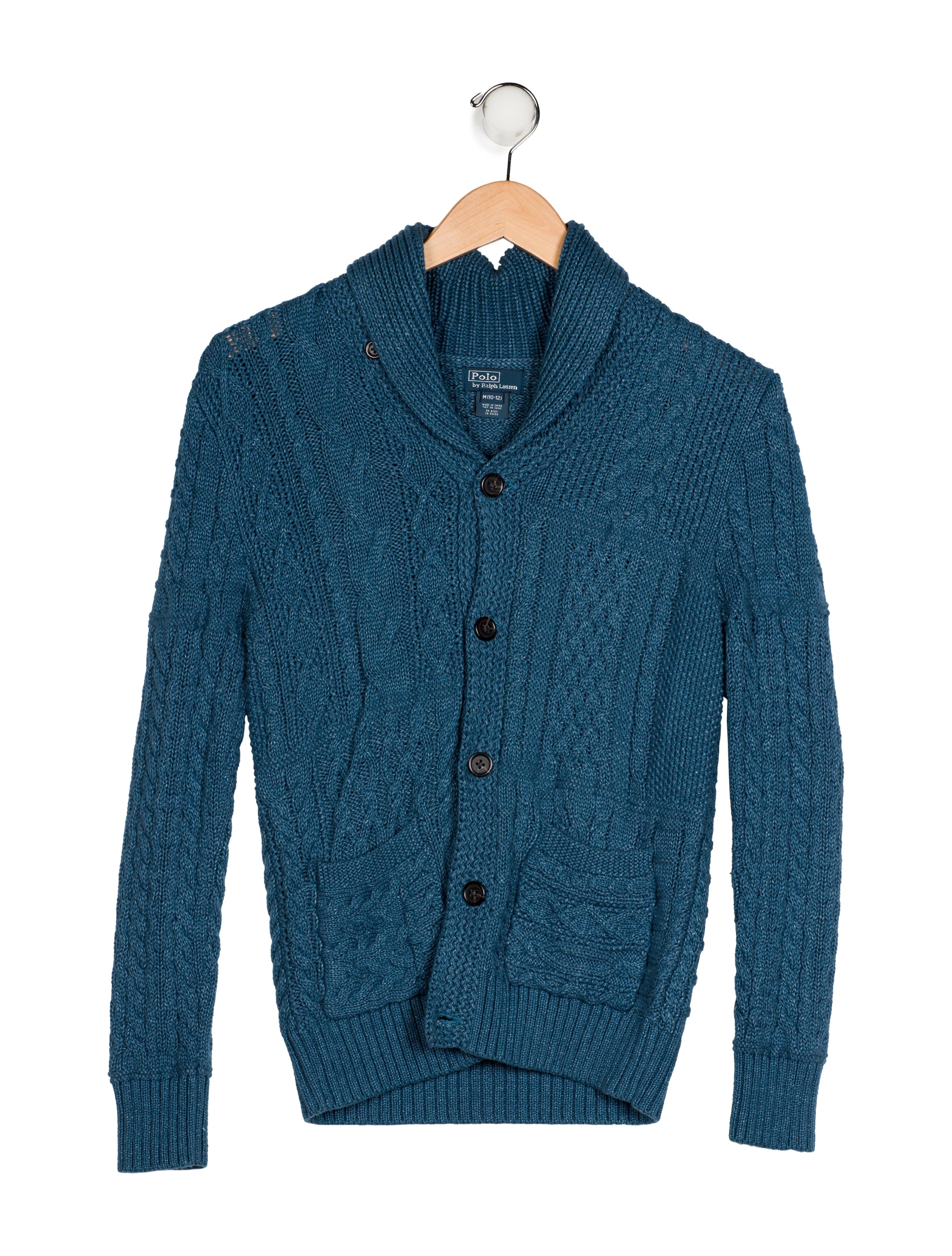 9a44e678c Polo Ralph Lauren Boys  Cable Knit Button-Up Sweater - Boys ...