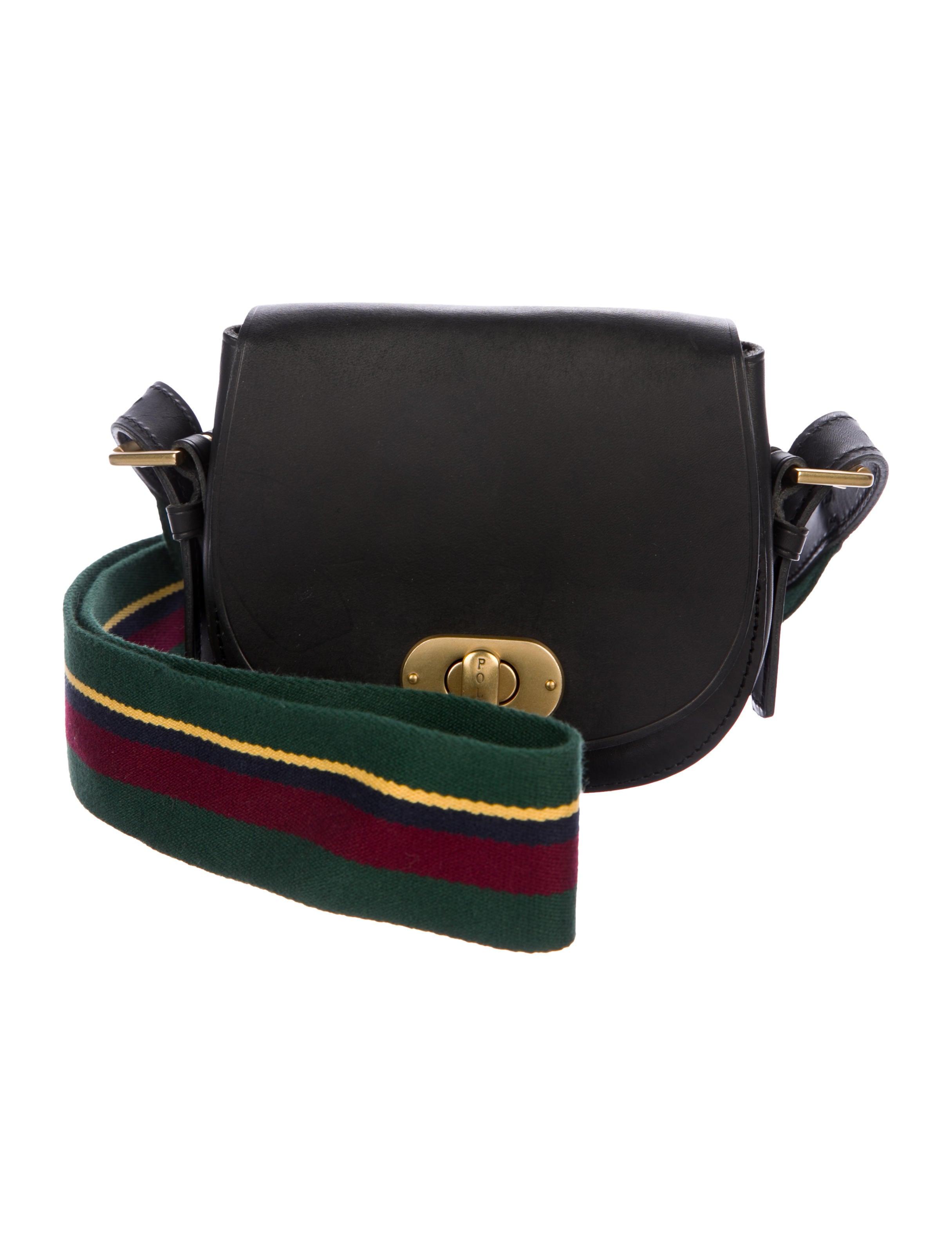7893515bd Polo Ralph Lauren Mini Saddle Bag - Handbags - WPRLN22584 | The RealReal