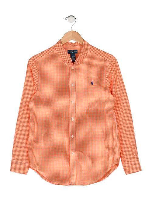 4af37564 Polo Ralph Lauren Boys' Gingham Button-Up Shirt - Boys - WPRLN23234 ...