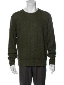 Polo Ralph Lauren Silk Crew Neck Pullover