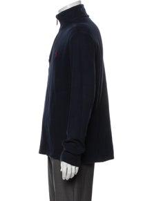 Polo Ralph Lauren Mock Neck Long Sleeve Polo Sweater