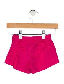 Polo Ralph Lauren Girls' Embroidered Woven Shorts