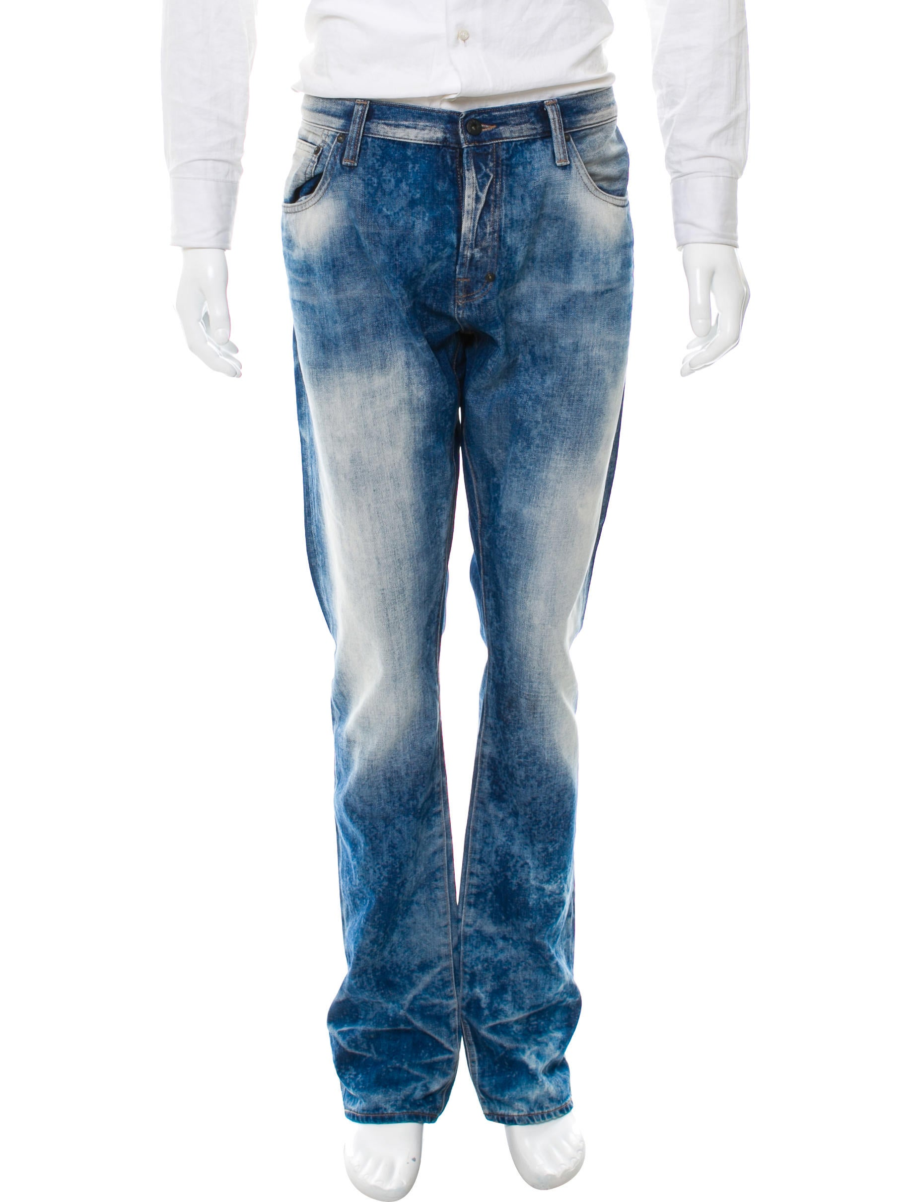 how to make acid wash jeans