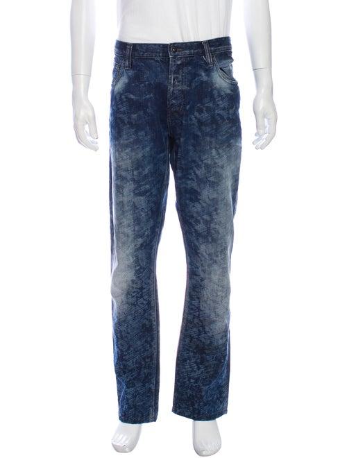 Prps Straight-Leg Jeans Blue