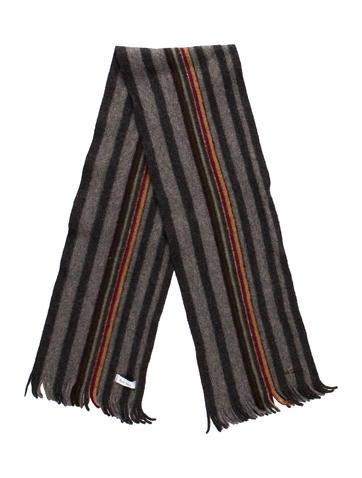 Stripe Pattern Scarf