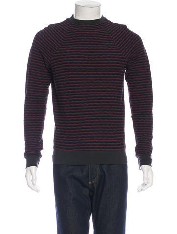 Paul Smith Textured Striped Sweater None