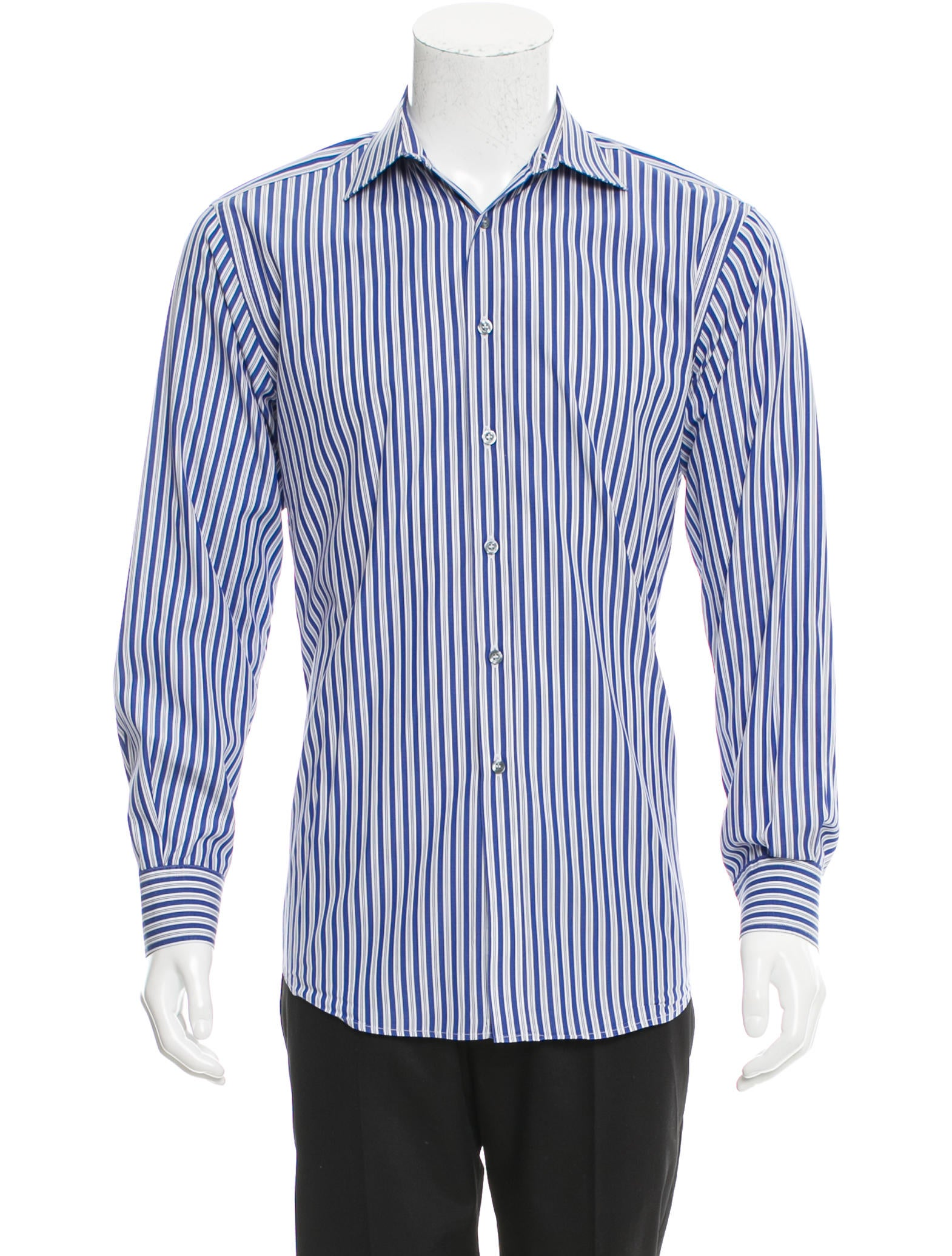 Paul Smith Striped Button Up Shirt Clothing Wps23485