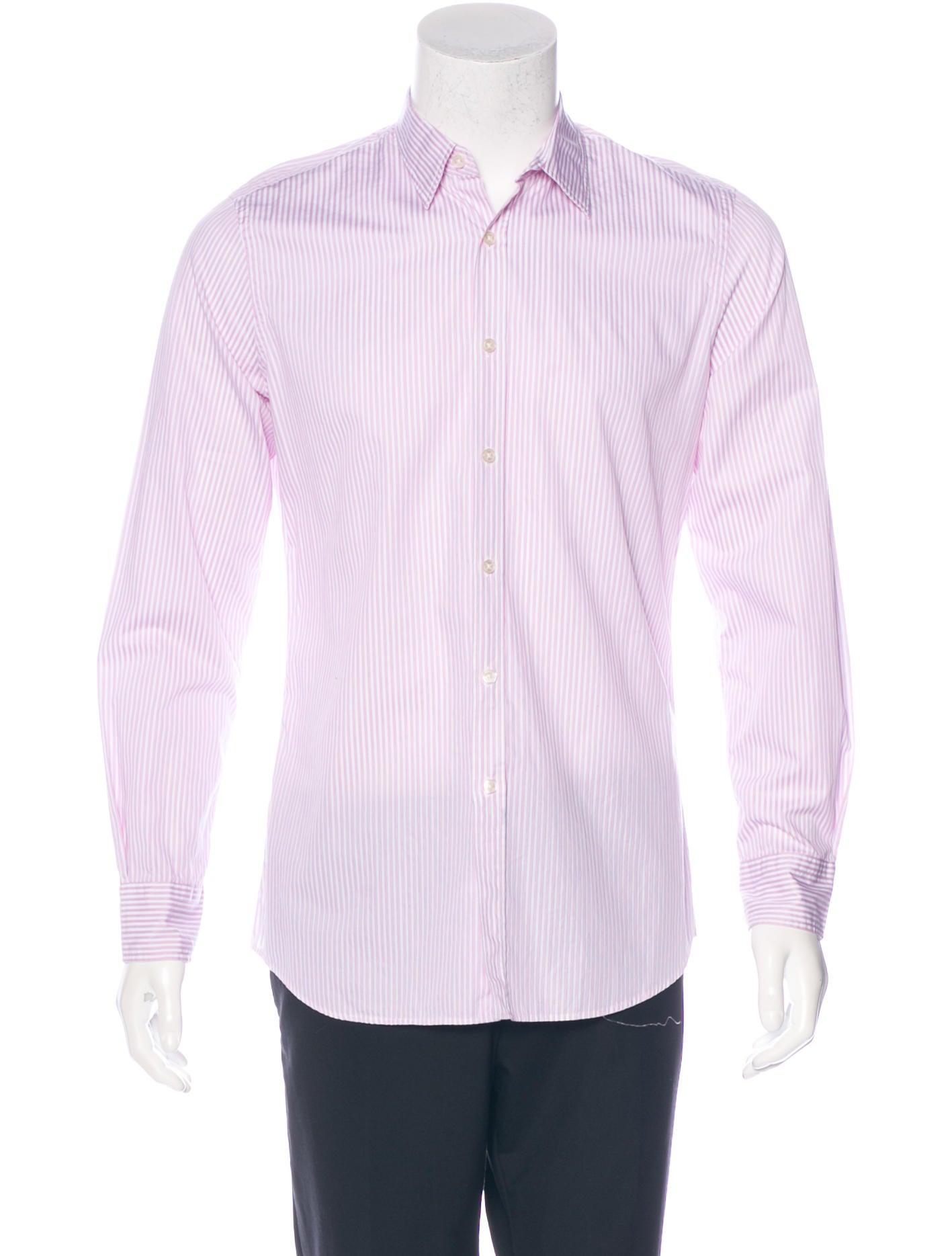 Paul smith tailored fit striped shirt clothing for Tailored fit dress shirts