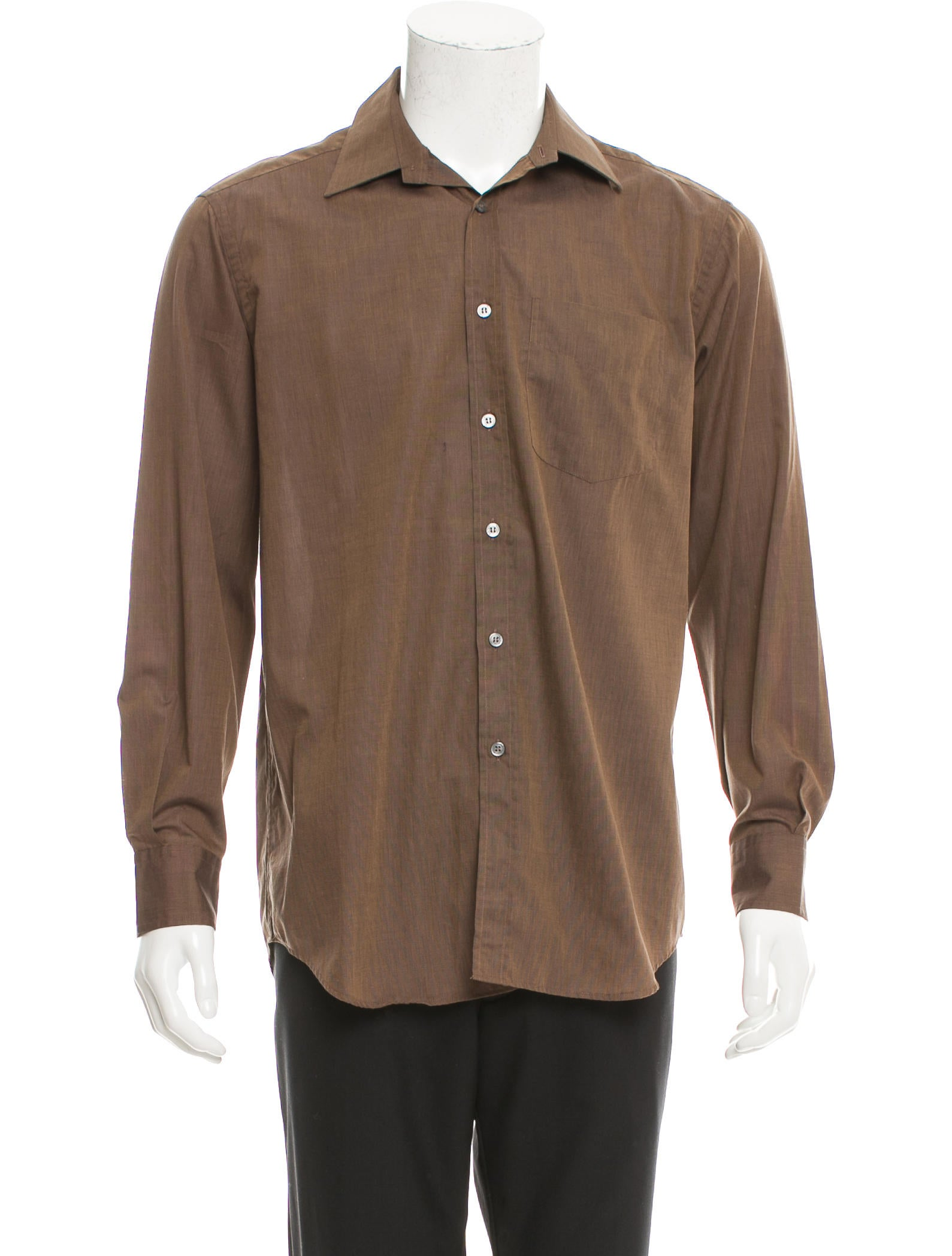Paul Smith Long Sleeve Button Up Shirt Clothing