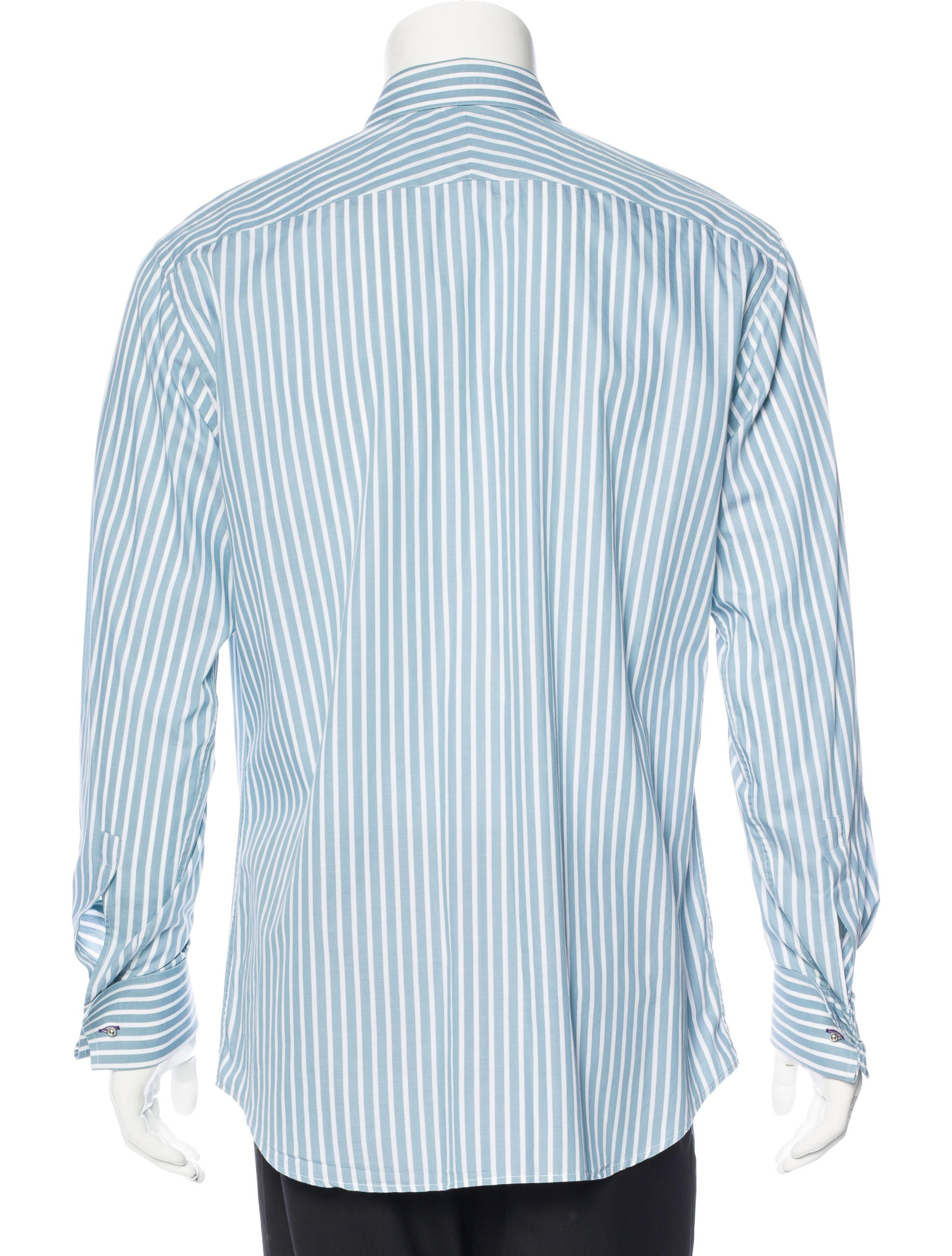 paul smith striped french cuff shirt clothing wps23677. Black Bedroom Furniture Sets. Home Design Ideas