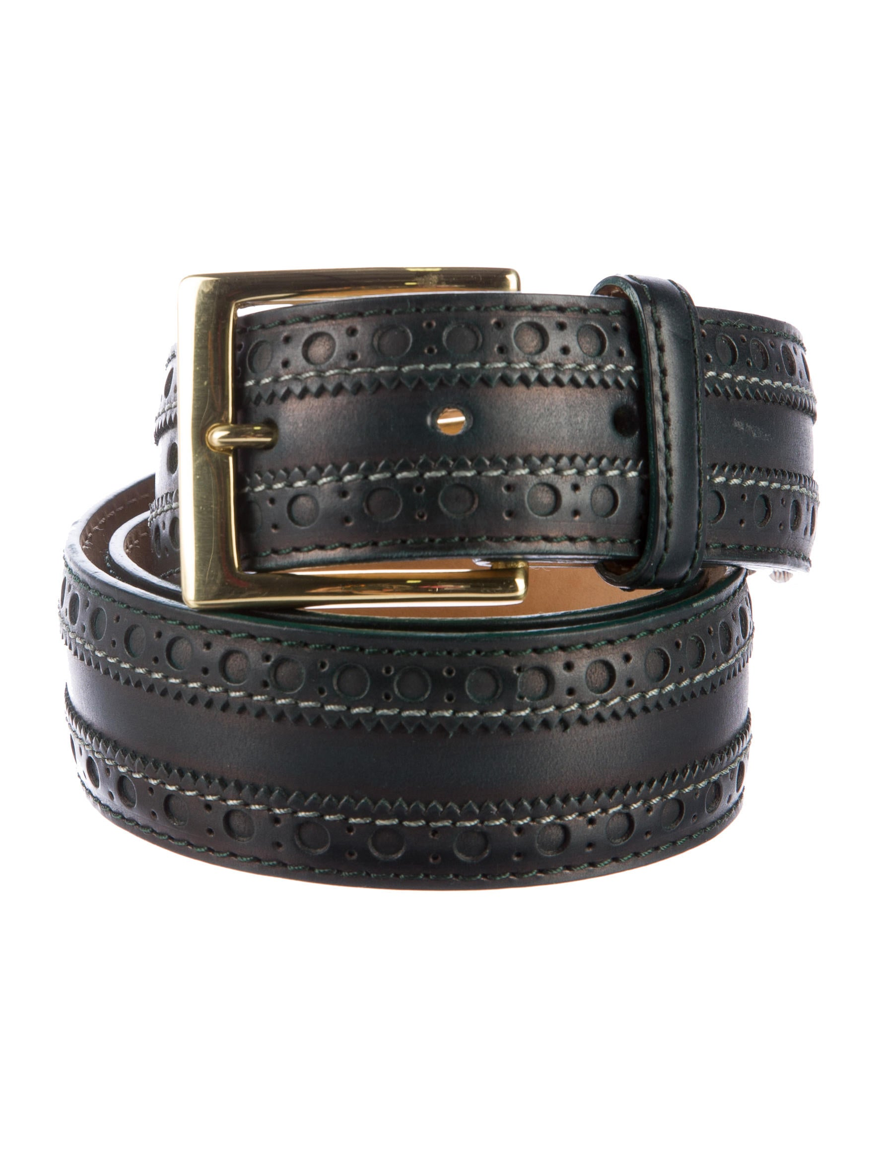 paul smith leather brogue belt accessories wps23747