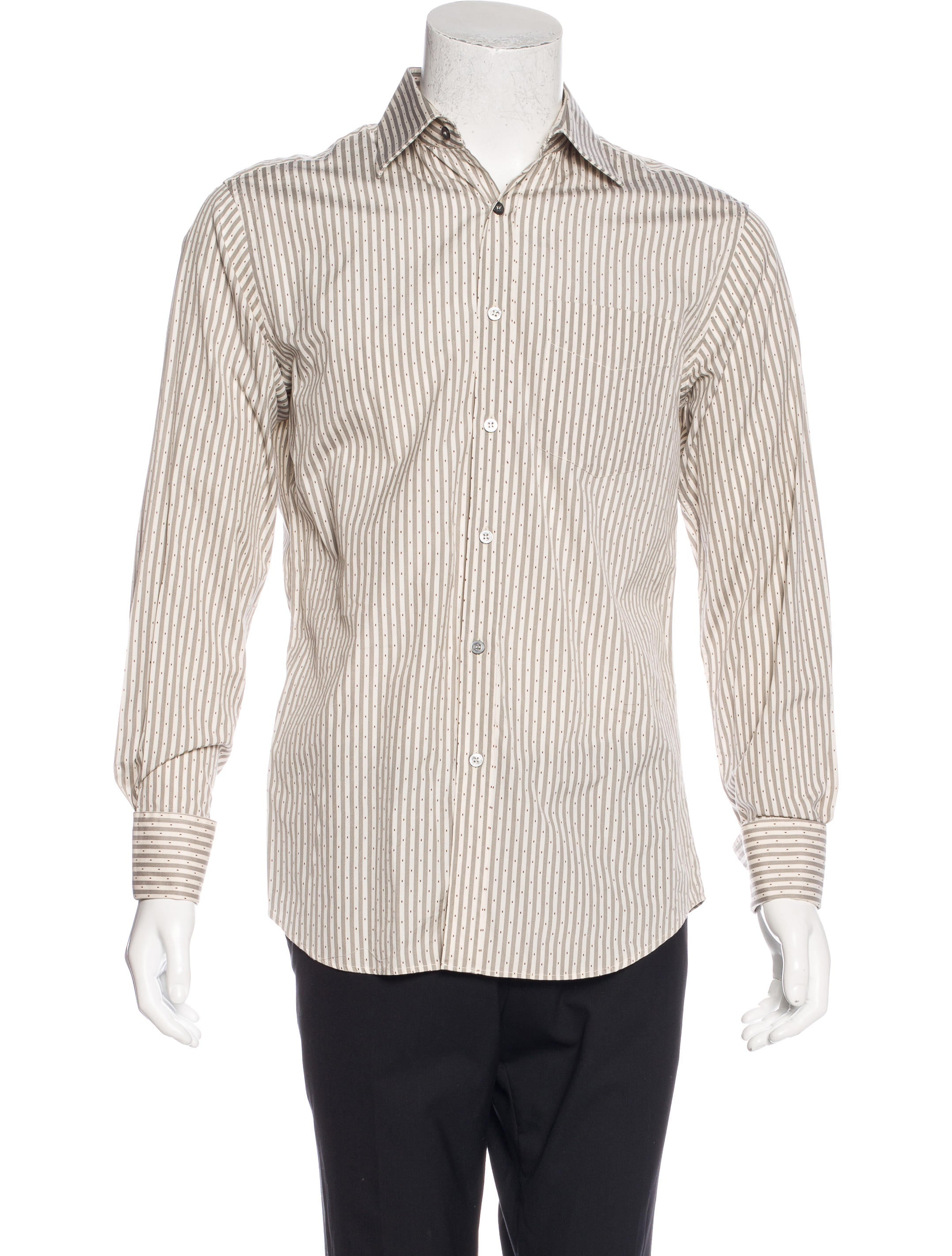 Paul smith striped french cuff shirt clothing wps23773 for What is a french cuff shirt