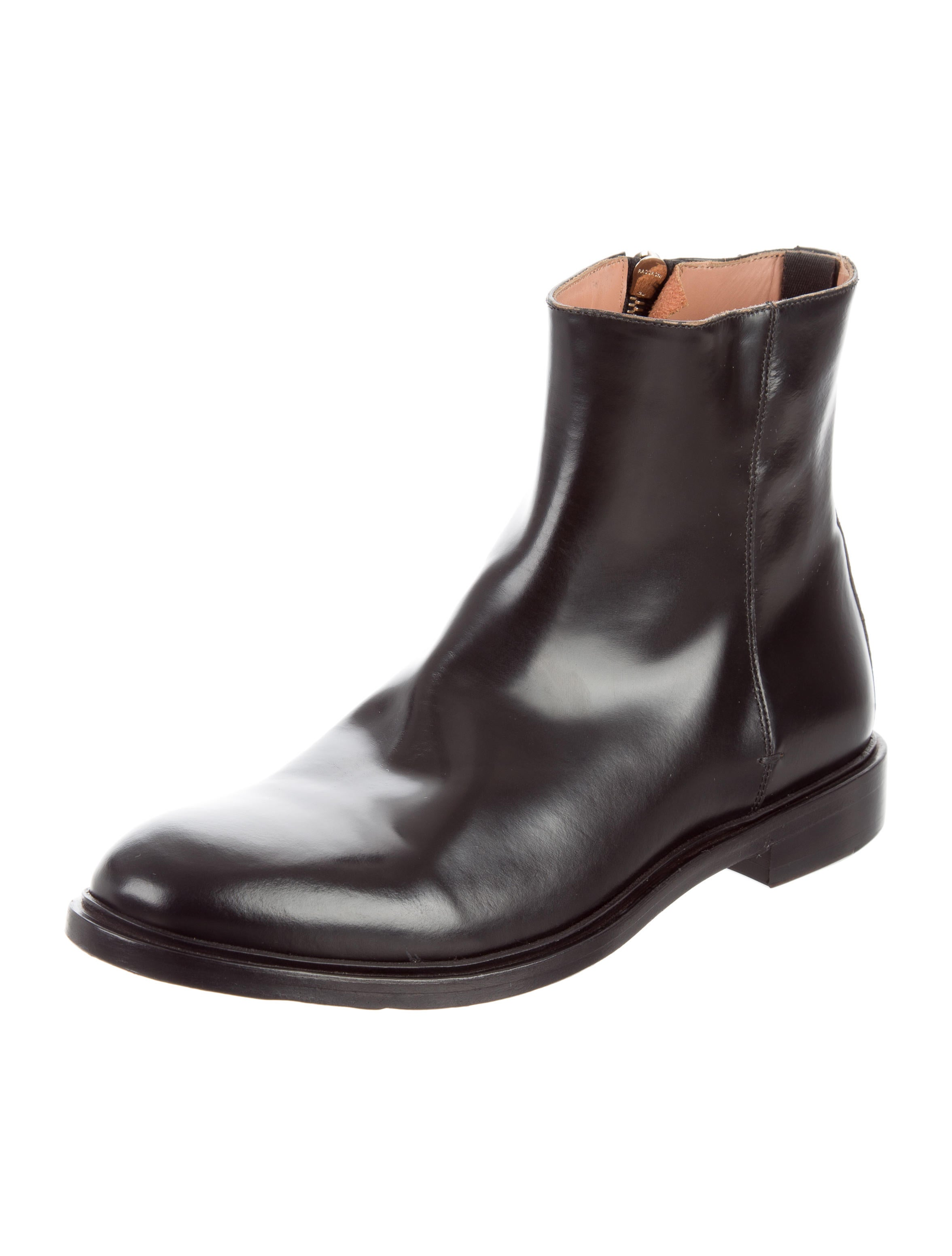Shop black patent leather ankle boots at Neiman Marcus, where you will find free shipping on the latest in fashion from top designers.
