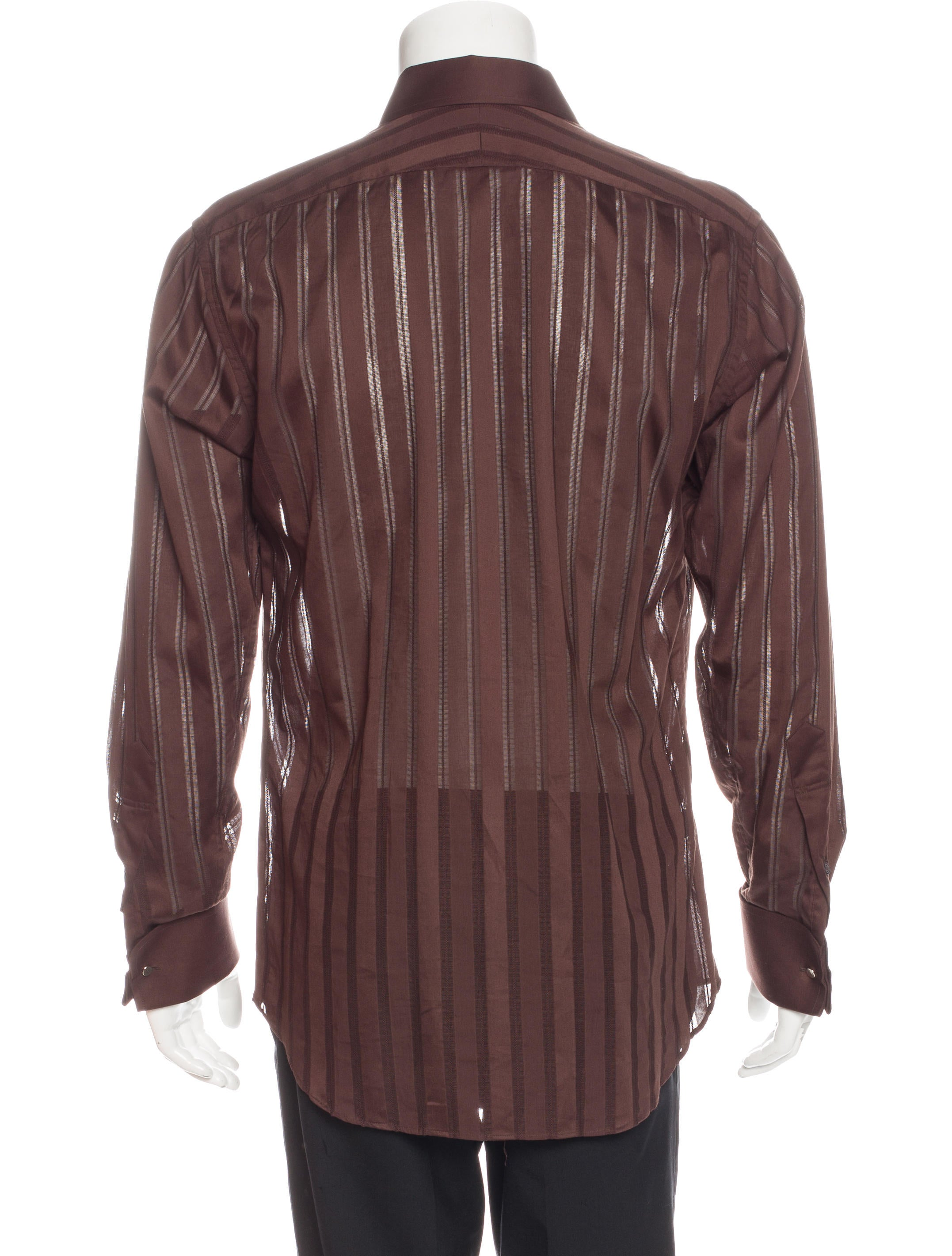 paul smith striped french cuff shirt clothing wps23878. Black Bedroom Furniture Sets. Home Design Ideas